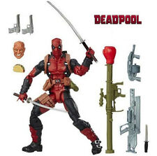"6""Hasbro Marvel Legends Deadpool&Accessories Action Figure X-men Doll Toy Rare"
