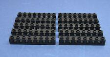 LEGO 10 tecnica Technic foro pietra travi foro 1x8 3702 Nero Black Hole Bricks