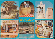 Tunisia Postcard - Views of South Tunisia - Landscapes and Portraits  RR1093