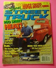 SUPER STREET TRUCK MAGAZINE JULY/1993..PRO STREET HEAT..CHASSIS BUYER'S GUIDE