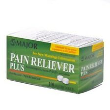 Pain Reliever Plus (Excedrin) - Pain Reliever Plus Tablets 100/bottle 1 Each
