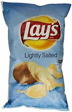 Lays Lightly Salted Potato Chips 10oz Bags (3 Pack)