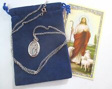 St. Dymphna, Saint Medal with 24 Inch Necklace