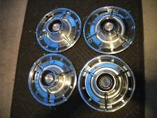 63 1963 chevrolet impala ss 63 64 nova spinners hubcaps wheel covers  nice