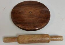 Hand Made Wooden Chakla Belan Rolling Pin Kitchen Utensils,Roti Maker Super