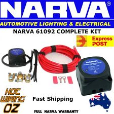 NARVA 61092 WIRING KIT EXPRESS POST  140 AMP 12V ISOLATOR AND DUAL BATTERIES