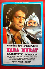 KARA MURAT BOUNCER 1972 TURKISH CUNEYT ARKIN NATUK BAYTAN UNIQ EXYU MOVIE POSTER
