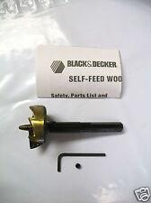 "2"" Black & Decker Self Feed Bit 17406 - Lot of 1"