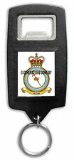 ROYAL AIR FORCE QUEENS COLOUR SQUADRON BOTTLE OPENER KEY RING