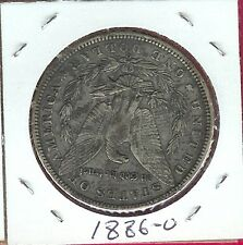 USA MORGAN DOLLAR 1886-O XF LIBERTY,AND EAGLE CLASPING ARROWS AND OLIVE BRANCH S
