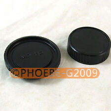 Rear Lens + Camera body Cover cap for MINOLTA MD MC