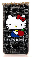 for samsung galaxy s2 / S II i9100 and i777 cute kitten kitty case black white//