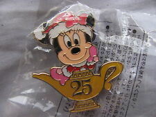 Disney Trading Pins 67043 TDR-Minnie in Santa Hat- 25 Lamp