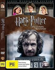 HARRY POTTER And The Prisoner Of Azkaban DVD BRAND NEW SEALED TOP 500 MOVIES R4