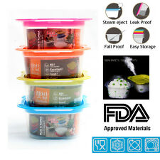 4pcs Baby Food Storage Container On The Go To Meal Microwave Dishwash BPA free