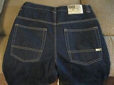 MEN'S DARK BLUE 5 POCKET JEANS-SOUTHPOLE BRAND-SIZE 34 X 28