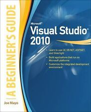 Microsoft Visual Studio 2010: A Beginner's Guide, Mayo,Joe, Good Condition, Book