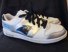 CAROLINA PANTHERS REEBOK Leather Field Pass Shoes SIZE 11 NFL Licensed