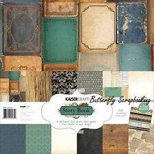 STORY BOOK Collection 12X12 Scrapbooking Kit Kaisercraft PK531 Paper Crafting