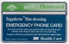 BT Phonecard -  Tegaderm | RARE ERROR