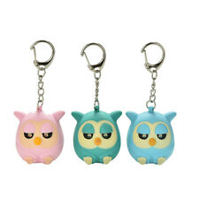 Owl Keyring Torch Voice Keychain Light LED Flashlight Key Chain Key Buckle TS