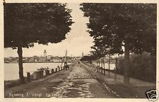 16303/ Foto AK, Nykobing, F. Udsigt fra Lolland, 1921