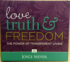 LOVE TRUTH & FREEDOM THE POWER OF TRANSPARENT LIVING  4 CD SERIES  JOYCE MEYER
