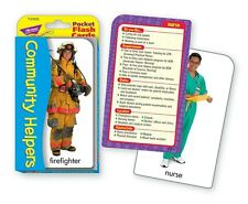 Community Helpers Flash Cards Speech Therapy ABA Special Needs Autism