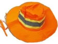 Bright Orange Booney Men's Ventilated Reflective Safety Hat-6 Hats-Free Shipping