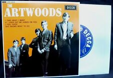 THE ARTWOODS - 4 MOD ANTHEMS ON THIS GREAT EP. LISTEN TO CLIPS