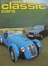Classic Cars magazine 02/1978 featuring Reliant Sabre, Triumph Stag, Marcos