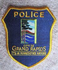"""Grand Rapids Police Patch - Minnesota - 4"""" x 4 1/2"""""""