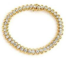 3.00ctw Diamond Solid 14K Yellow Gold  Tennis Bracelet