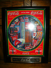 "Coca Cola, David Lencho Musical Plaque-""Enesco ""THE ERAS OF COCA COLA"" 1970-1980"
