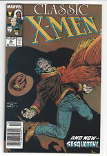 1988 Marvel Comics Classic X-Men #26 with Sasquatch! NM See the Pictures!