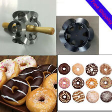 Fast Revolving Donut Cutter Maker Mould Molding Machines Safety Convenience LO