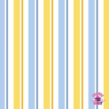 145000008 - Despicable Me 1 in a Minion Blue Stripe Fabric by the Yard Gru Movie