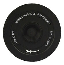 Skink Pinhole Pancake Pro Kit with zone plate for Canon EOS Rebel X7i, X6i, X6