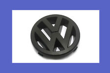 Matte Black Front Grille Emblem Badge For VW Golf Jetta MK5 GTI GLI 2.0T NEW