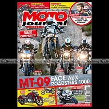 MOTO JOURNAL N°2074 DUCATI 900 MHR YAMAHA MT-09 KAWASAKI Z 1000 HONDA CB R 2013