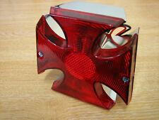 Maltese Cross Tail Light Fits Harley Custom Chopper Bobber Trike Cycle Haven