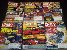 1980S-2000S CHEVY HIGH PERFORMANCE MAGAZINE LOT OF 22 ISSUES - CAR COVER - M 706
