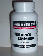 NATURE'S DEFENSE ANTIOXIDANT BLEND FREE RADICAL DEFENSE IMMUNITY 120 CAPSULES