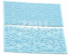 Flower Rose Cloud Printed Lace Cake Decorating Sugarcraft Cookie Pastry Cutters
