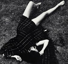 1960's NUDE FEMALE LEGS Woman & Blanket Fashion 11x14 Photo Art By WINGATE PAINE