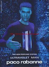 Paco Rabanne Ultraviolet Man 2002 Magazine Advert #2684