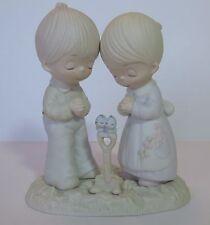 """Precious Moments """"Prayer Changes Things"""" E-1375B Original 21 Hourglass Mark"""