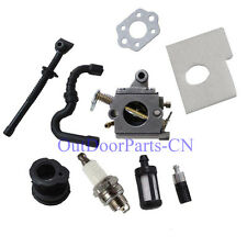 Carburetor Fuel oil line Air Filter Kits for STIHL 017 018 MS170 MS180 Chainsaw
