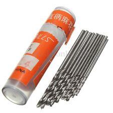 10PCS HSS Foret Fraise 0.8-1.5mm PCB Forage Perceuse Revêtu Drill Bits Outil