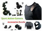 G19 Bike Handlebar Mount Holder & Camouflage Chest Harness Strap for Action Cam